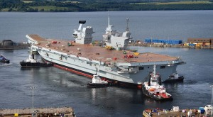 HMS Queen Elizabeth Photo by BAE