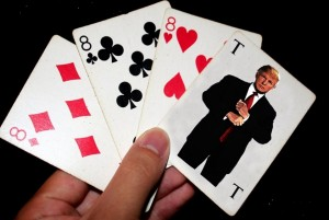 POKER - Donald Trump