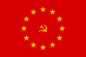 EUSSR symbol - red